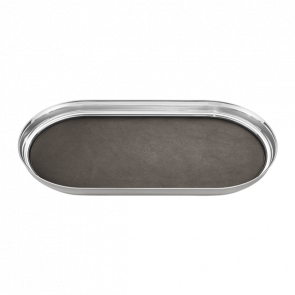 Georg Jensen tray with leather